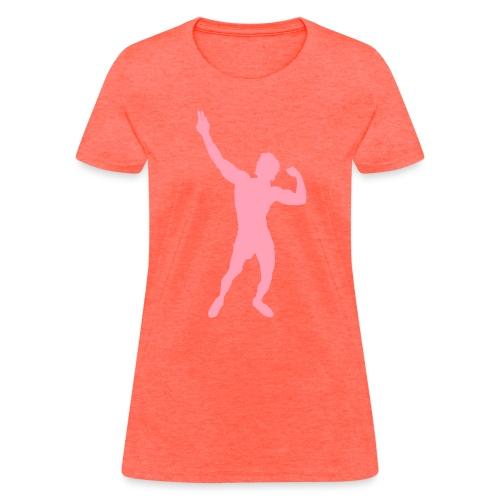 Zyzz Silhouette vector - Women's T-Shirt