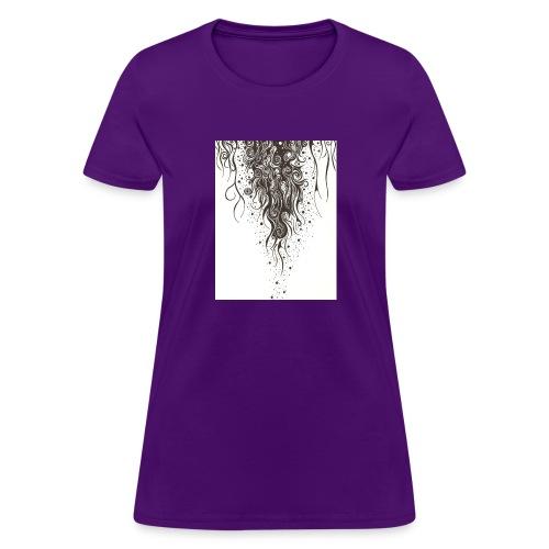 Tendrils - Womens Standard - Women's T-Shirt