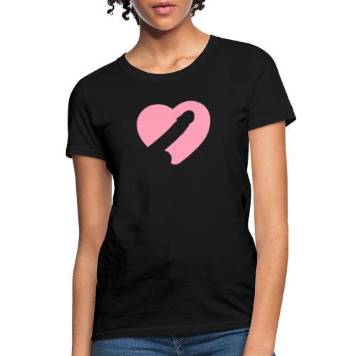 Heart Cock - Women's T-Shirt
