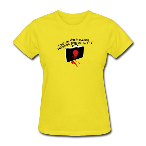The travelling salesman problem - Women's T-Shirt