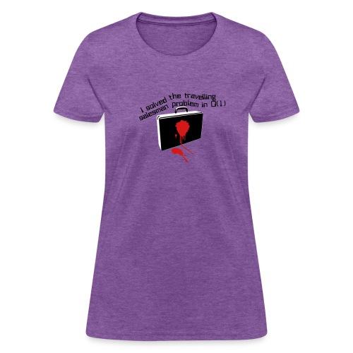 The travelling salesman problem - Women's T-Shirt