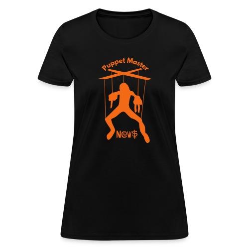 puppet master news - Women's T-Shirt