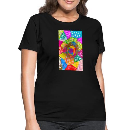 Patchwork - Women's T-Shirt