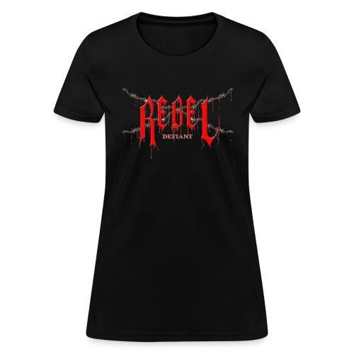rebel logo gif - Women's T-Shirt