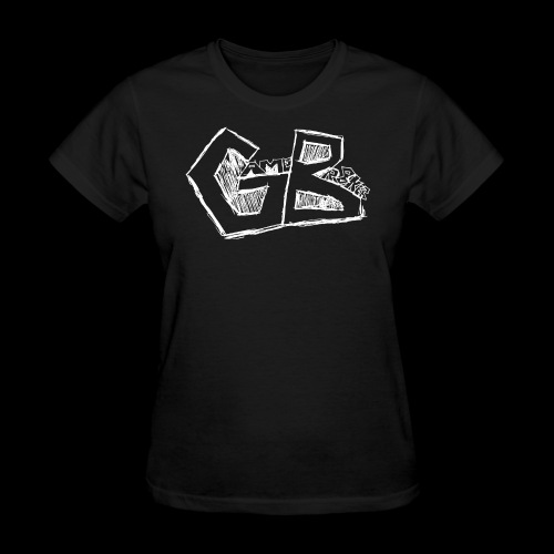 GameBr8ker Scribble White - Women's T-Shirt