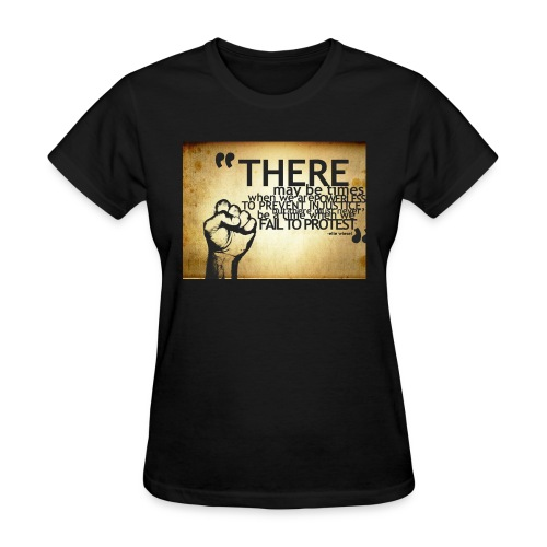 there may be times when we are powerless - Women's T-Shirt