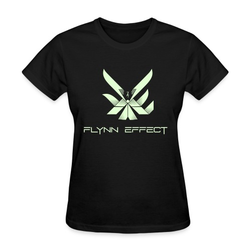 Flynn Effect Logo Text - Women's T-Shirt
