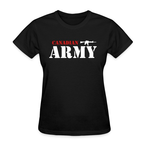 Canadian Army - Women's T-Shirt