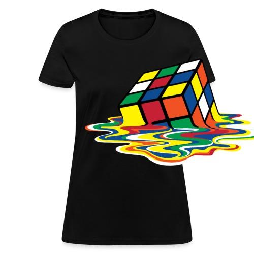 meltingcube - Women's T-Shirt