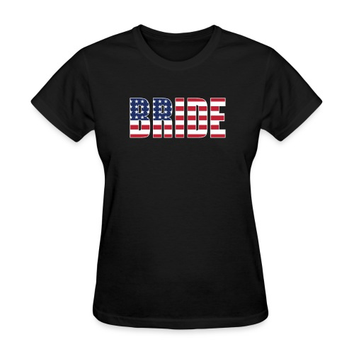 Bride Us Flag - Women's T-Shirt