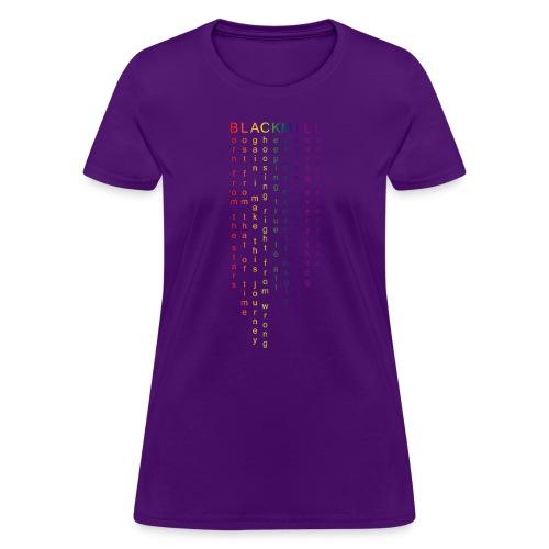 Words - Women's T-Shirt
