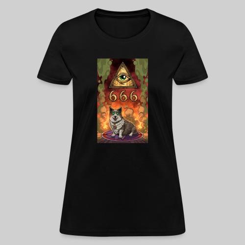 Satanic Corgi - Women's T-Shirt