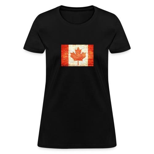 Canada flag - Women's T-Shirt