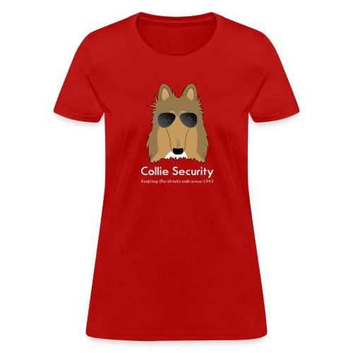 Collie Security - Women's T-Shirt
