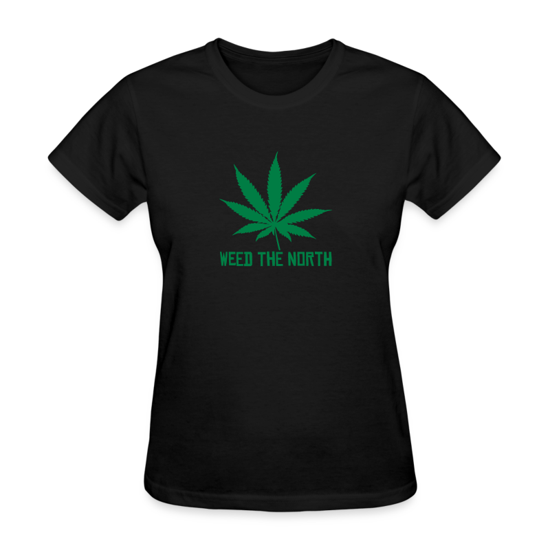 Weed The North - Women's T-Shirt