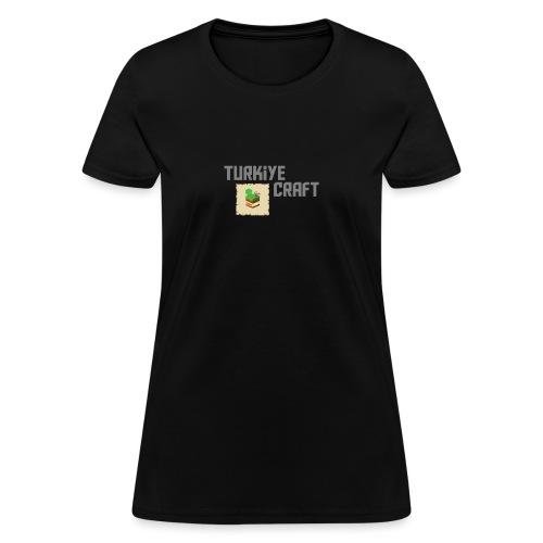 TurkiyeCraft Logo - Women's T-Shirt