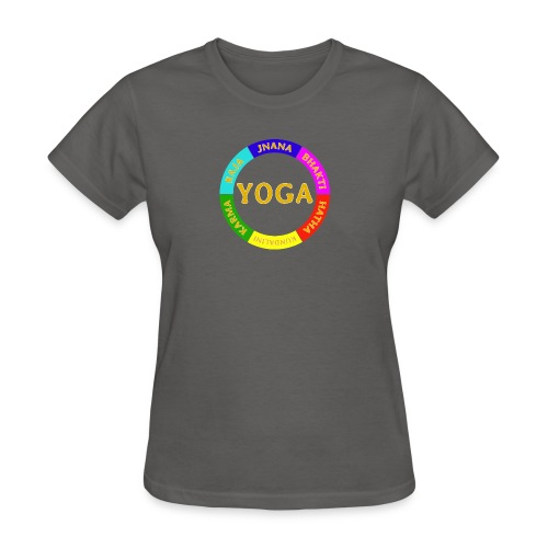 6 ways of Yoga - Women's T-Shirt