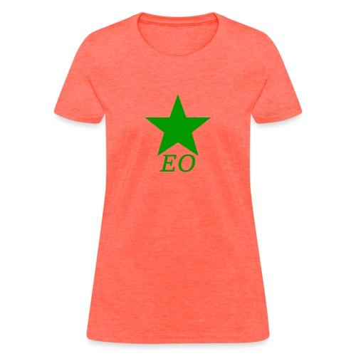 EO and Green Star - Women's T-Shirt