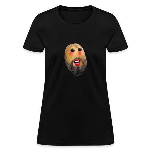 shy potato png - Women's T-Shirt