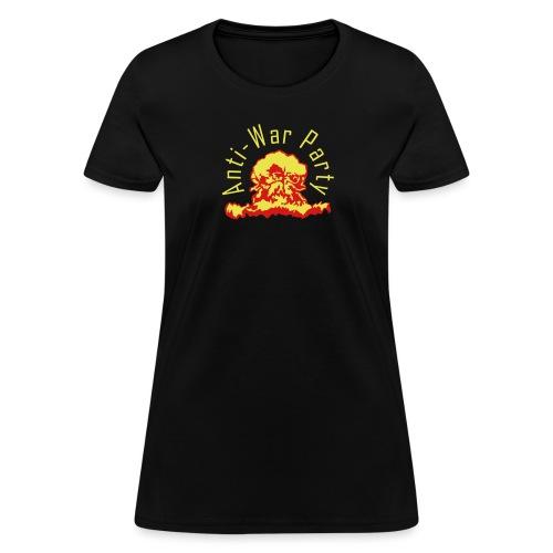 Anti-War Party yellow glo - Women's T-Shirt