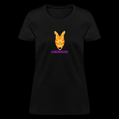 Kangaroozoo1 Logo & Name - Women's T-Shirt