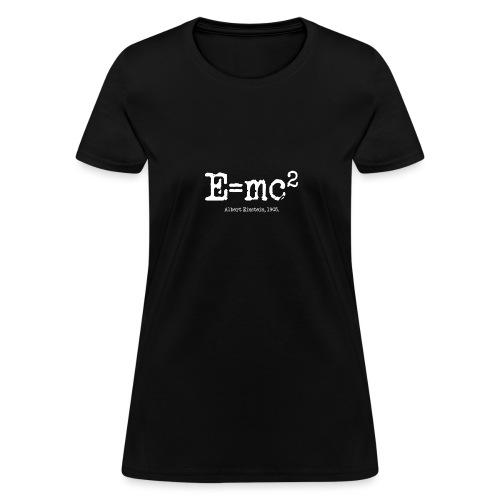 E=mc2 - Women's T-Shirt