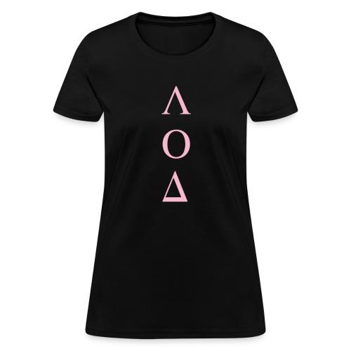 ΛΟΔ Pink - Women's T-Shirt