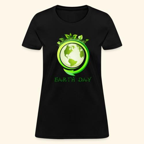 Happy Earth day - 2 - Women's T-Shirt