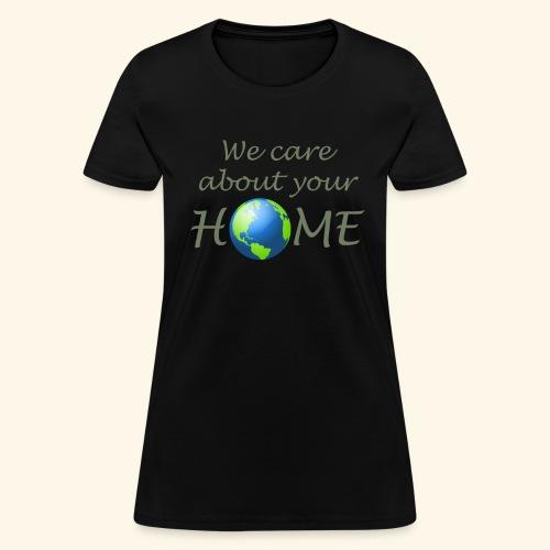 Happy Earth day - Women's T-Shirt