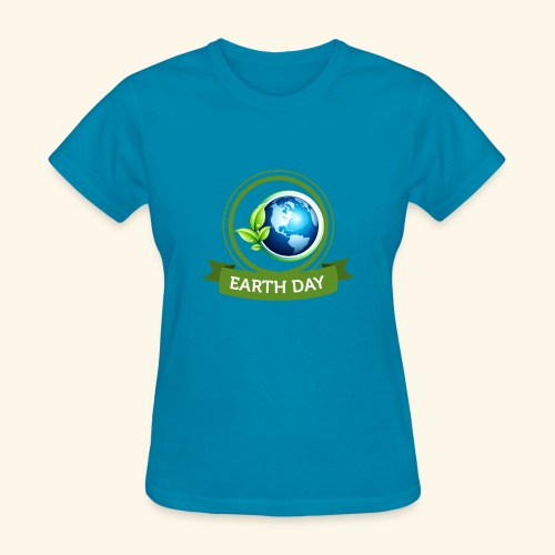 Happy Earth day - 3 - Women's T-Shirt