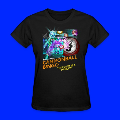 Vintage Cannonball Bingo Box Art Tee - Women's T-Shirt