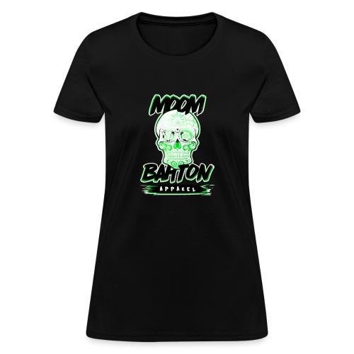 Sugar Skull Green - Women's T-Shirt