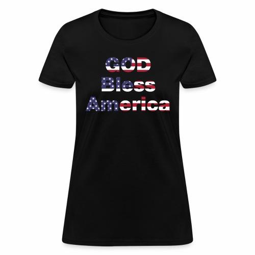 God Bless America - Women's T-Shirt