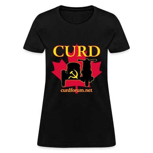 CURD curdforum - Women's T-Shirt