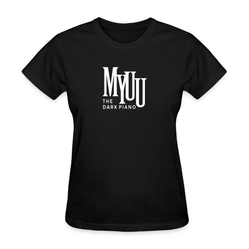 myuu Logo DarkPiano final - Women's T-Shirt