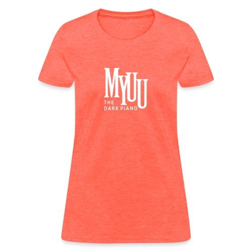 myuu Logo DarkPiano final - Women's T-Shirt