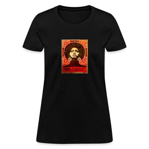Angela Davis proPoster - Women's T-Shirt