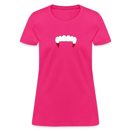Vampire Fangs - Women's T-Shirt