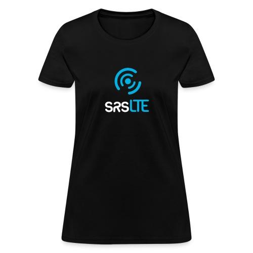 srslte vertical bluewhite - Women's T-Shirt