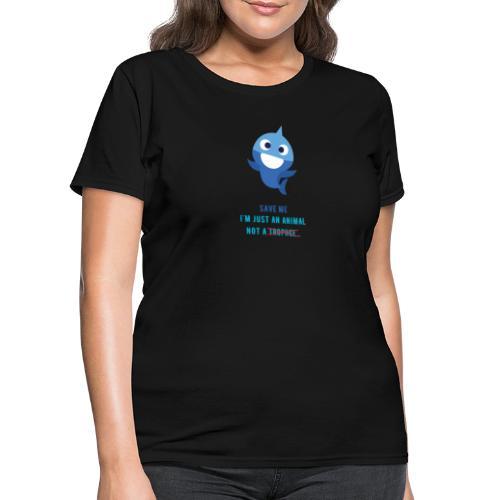 Baby Shark - Save Animals - Women's T-Shirt
