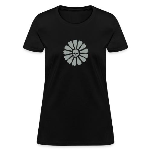 skull flower - Women's T-Shirt