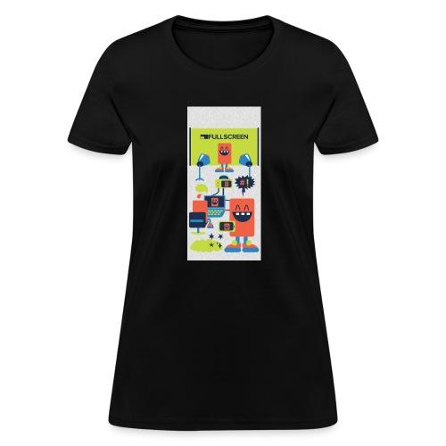 iphone5screenbots - Women's T-Shirt