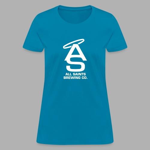 AS Logo white - Women's T-Shirt