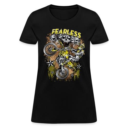 Fearless Motocross Suzuki - Women's T-Shirt
