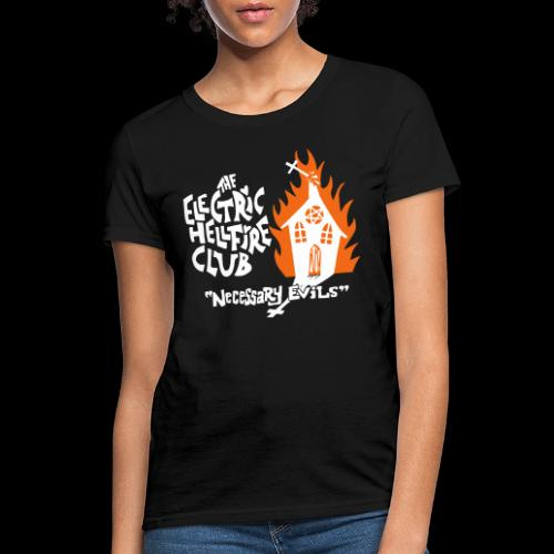 Necessary Evils front - Women's T-Shirt