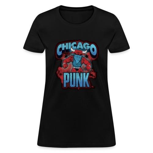 Chicago Punk Vintage - Women's T-Shirt