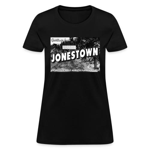 Jonestown Postcard - Women's T-Shirt