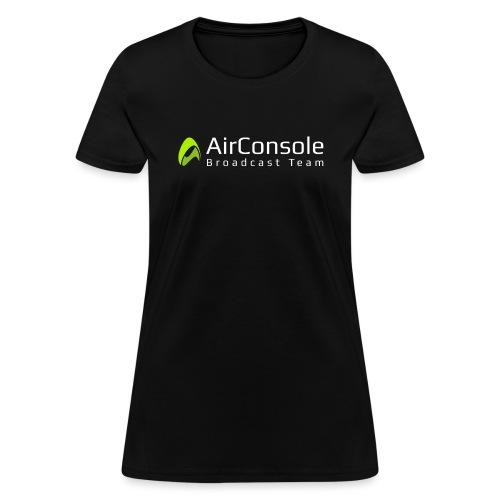 broadcast-white_transpare - Women's T-Shirt