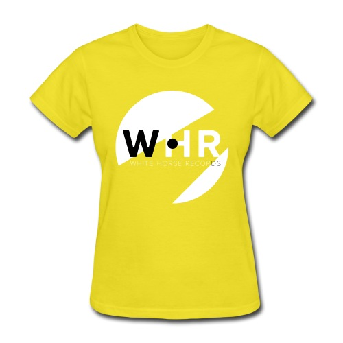 White Horse Records Logo - Black - Women's T-Shirt