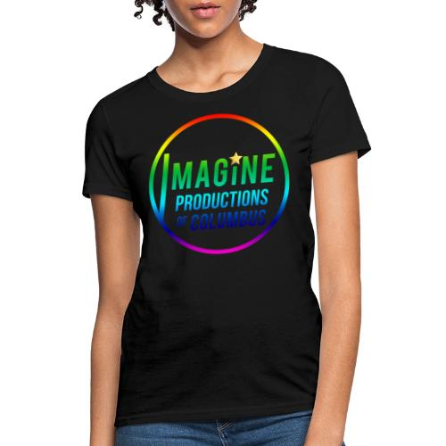 Imagine Rainbow - Women's T-Shirt